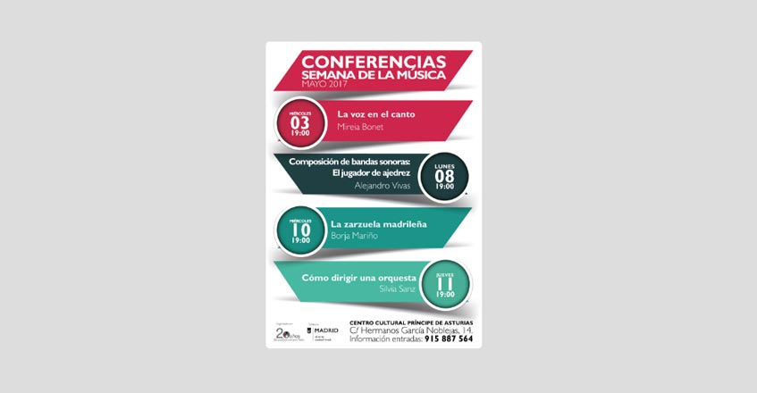 Conferencias en Primavera